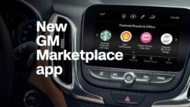 GM app lets you order coffee while you drive.