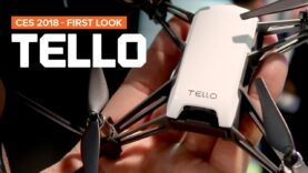 CES 2018 – TELLO drone by Ryze Robotics in partnership with DJI and Intel.