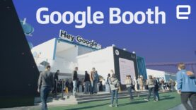 Google booth tour at CES 2018.