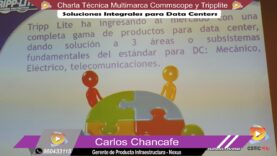 Charla Técnica Multimarca Commscope y Tripplite.
