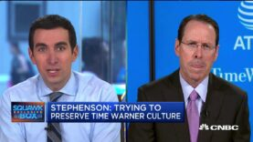 Entrevista: El CEO de AT & T Randall Stephenson sobre Time Warner Deal.