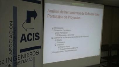 Análisis del Software de manejo de Proyectos