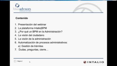 Modernización en la administración pública mediante Intalio|BPM