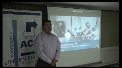 CC2013 ACIS: Arquitectura empresarial e ITIL