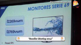 AOC presento sus nuevos monitores en el evento Gigabyte