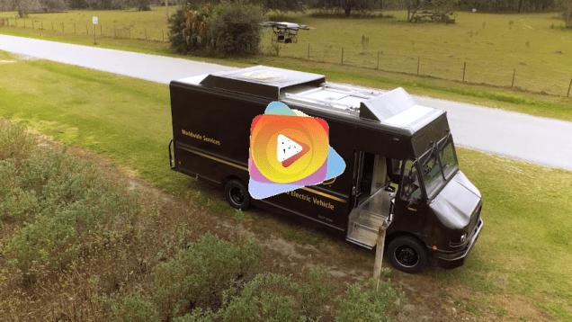 UPS prueba con éxito drones