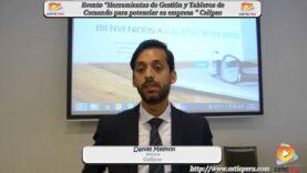 Entrevista a Daniel Meliton director de la empresa Calipso