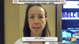Entrevista a Laura Bernal ejecutiva de Belden, sobre su evento en nuestro País.