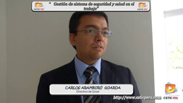 Entrevista al ejecutivo de GOSST, sobre su nueva aplicación dirigido al sistema de seguridad.