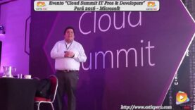 "Evento ""Cloud Summit Perú 2016"" – Microsoft."