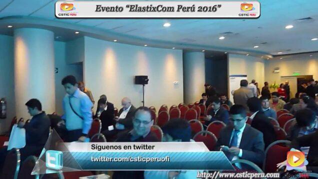 """Evento """"ElastixCom Perú 2016"""""""