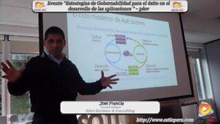"""Evento """"Estrategias de Gobernabilidad para el éxito en el desarrollo de las aplicaciones"""""""