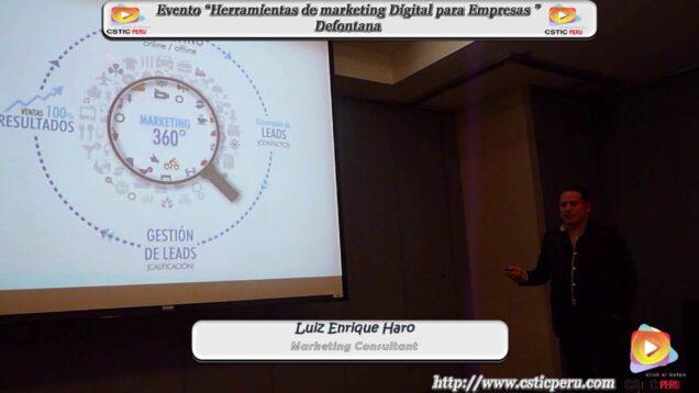 """Evento """"Herramientas de marketing Digital para Empresas"""" – Defontana."""