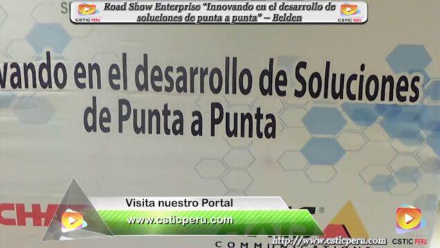 """Evento """"Innovando en el desarrollo de soluciones de punta a punta""""."""