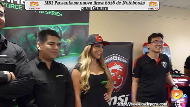 """Evento """"Lanzamiento de su nueva línea de Notebooks para Gamers"""" – MSI."""