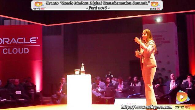 """Evento """"Oracle Modern Digital Transformation Summit"""" – Perú 2016."""
