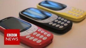 Nokia 3310 mobile phone resurrected at MWC 2017 (Ingles).
