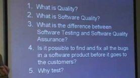 Prueba de Software v/s Garantía de Calidad de Software