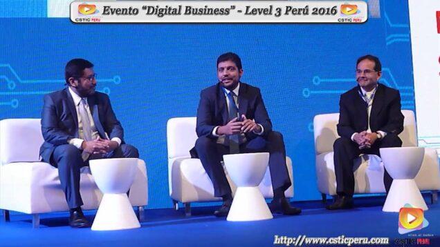 Rondas de conversaciones con los miembros del panel del 8 foro de level3 Perú 2016.