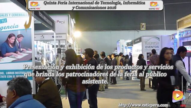 Tours: Feria Internacional EXPO TIC 2016.