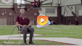 Cuál es el riesgo de lesión si un drone nos golpea