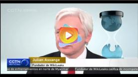 Fundador de Wikileaks Assange acusa a la CIA de incompetencia devastadora.