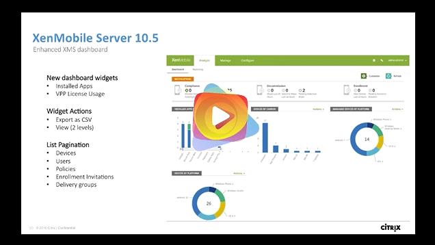 XenMobile Server, Cloud