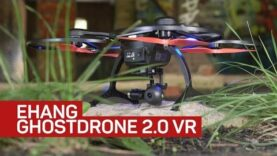 Ehang Ghostdrone 2.0 VR sends first-person flight to your pone (Ingles).