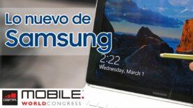Las novedades de Samsung en el MWC 2017.
