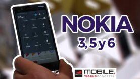 Los nuevos Nokia en el MWC 2017.