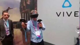 Virtual Reality en e MWC 2017.
