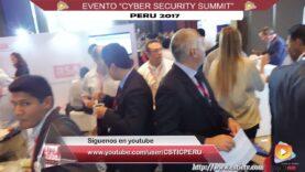 "Evento ""CYBER SECURITY SUMMIT PERU 2017"" – Resumen."