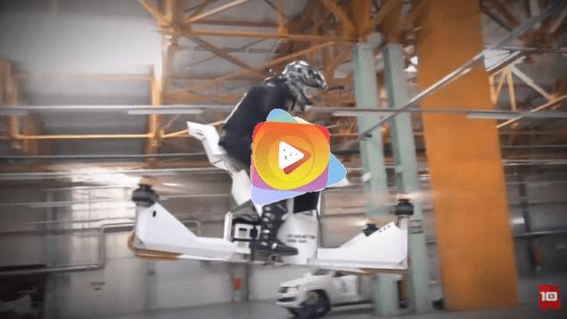 10 Vehículos voladores