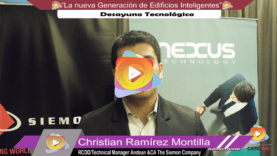Entrevista Christian Ramírez – Siemon