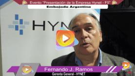 Entrevista a Fernando Ramos – Hynet