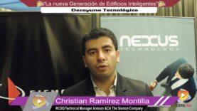 Entrevista Christian Ramírez – Siemon.