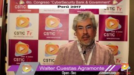 Entrevistas a Sponsor del CYBERSECURITY BANK & GOVERNMENT- 6ta. EDICION PERU 2017.