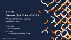CICS V5.4  Visión General – IBM (Ingles).