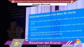 Seguridad en la Nube y Políticas Públicas para la Adopción de Tecnología.