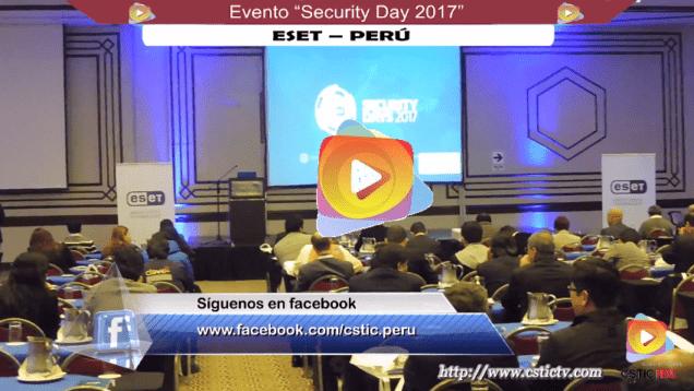 Evento security days 2017 eset