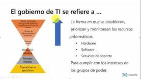 COBIT 5. Gestión de Gobernabilidad TI.