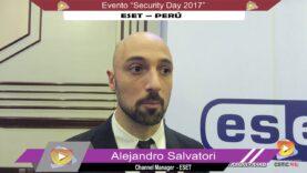 Entrevista a los ejecutivos de ESET, sobre el evento Security Days 2017 – PERÚ.