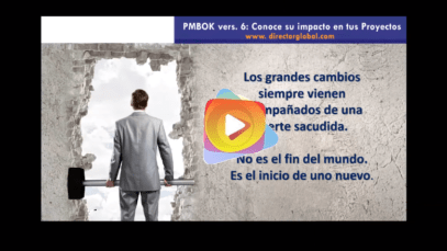 PMBOK: Nueva versión 6 – Conoce su impacto en los proyectos.