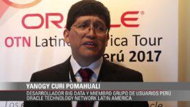 Yanogy Curi Pomahuali Desarrollador Big Data Perú.
