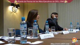 Rueda de Prensa de los altos Ejecutivos de la empresa Dell EMC – Lima Perú.