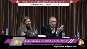 """Apertura del Evento """"Segurinfo Perú 2017""""."""