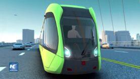 Autobús inteligente llegará pronto a las calles de China.