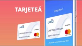 Ualá, el primer banco online con su tarjeta para los millenials.