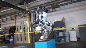 Atlas el robot atlético.