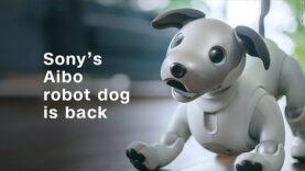 El perro robot Aibo de Sony está de vuelta (Ingles).